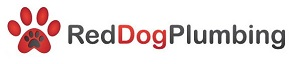 Red Dog Plumbing Logo